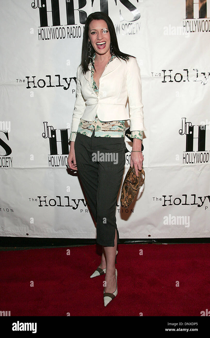 Dec 06 2005 Hollywood Ca Usa Actress Paget Brewster During Arrivals At The Junior Hollywood Radio Television Societys 3rd Annual Young Hollywood