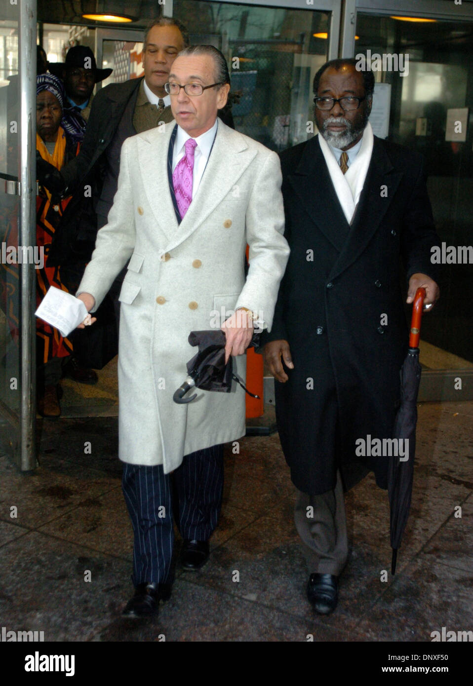 Probation Officer Police Stock Photos Country Boots Zongos Dec 09 2005 Manhattan New York Usa Attorney For Ousmane Zongo
