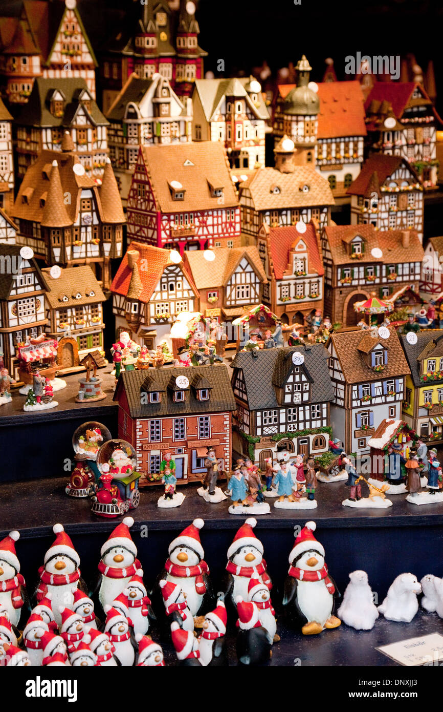 Christmas gifts for sale at the Cologne christmas market, Cologne ...