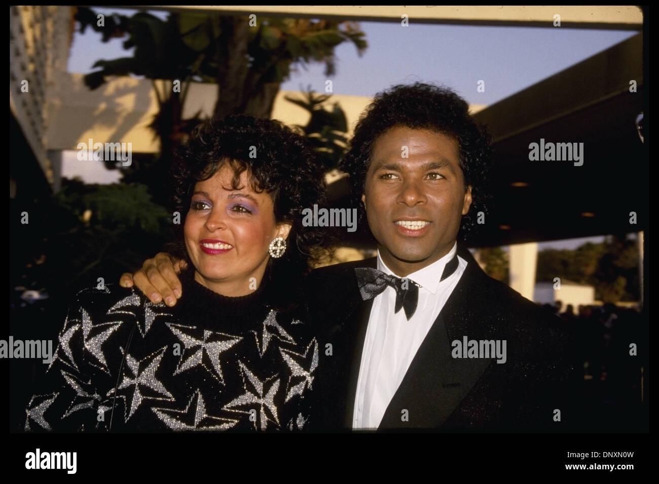 Hollywood Ca Usa Philip Michael Thomas And Cheryl Kagan