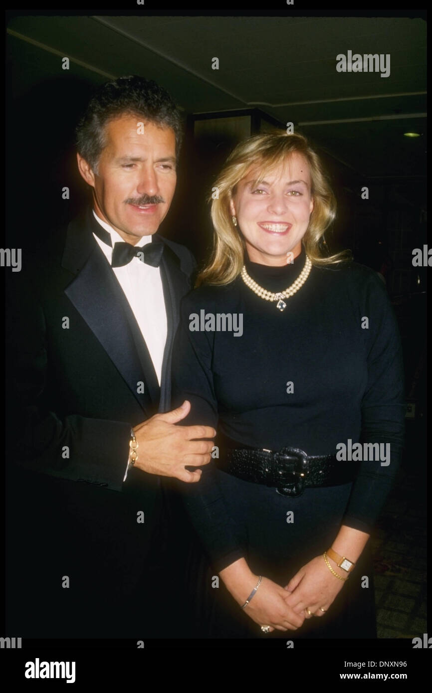 Who is alex trebek dating