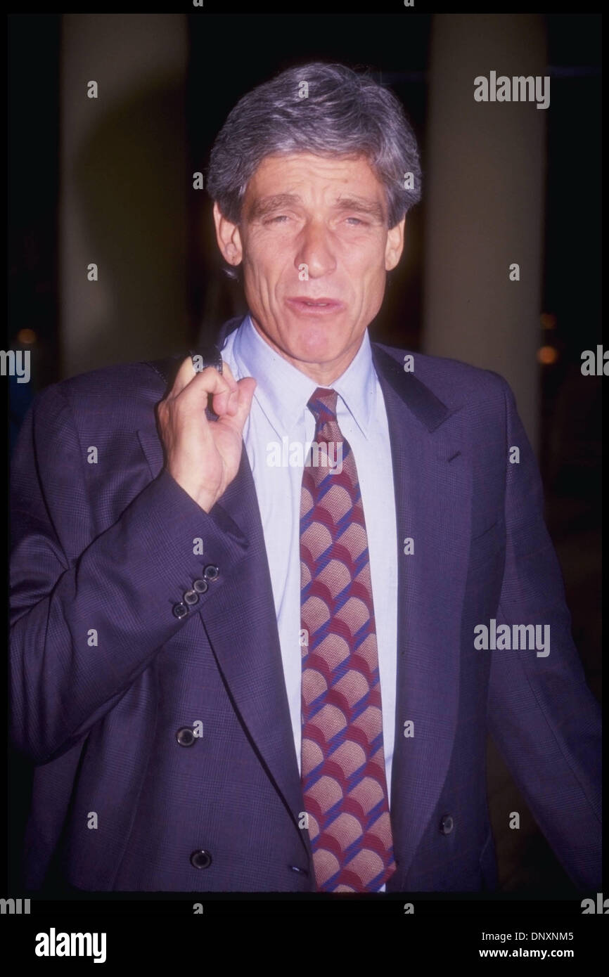 Hollywood, CA, USA;  Tabloid TV host MAURY POVICH is shown in an undated photo.  (Michelson-Karnbad/date unknown) Stock Photo