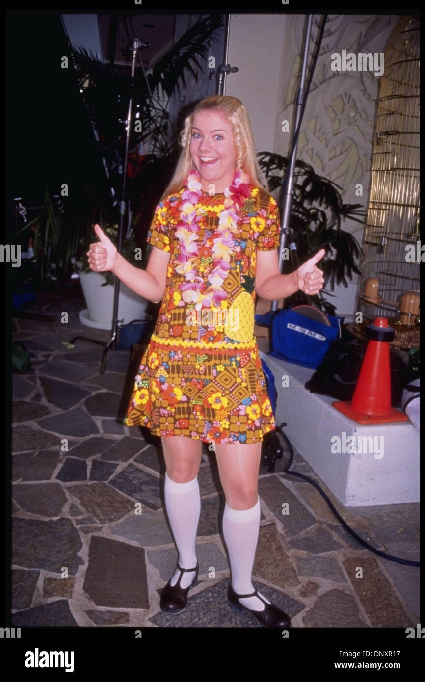 Hollywood Ca USA Actress JENNIFER COX As Jan Brady Stars In