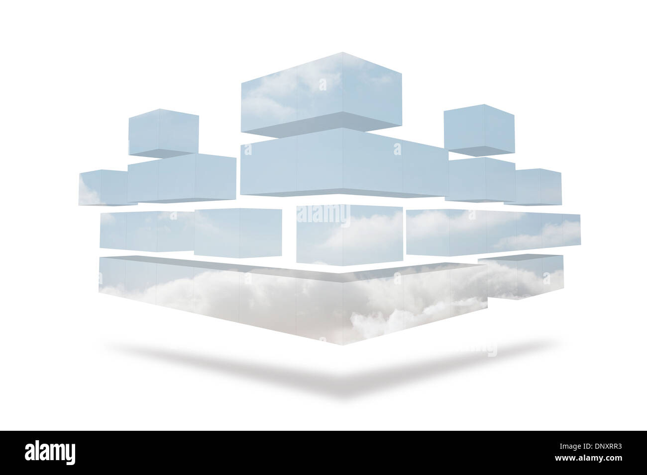 Structures showing sky - Stock Image