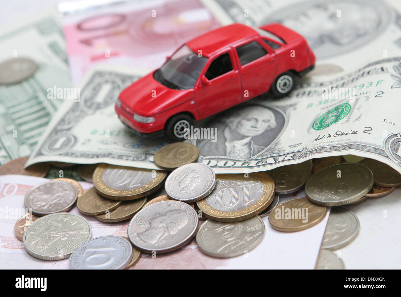 Nov 23, 2006 - Moscow, Russia - US Dollars automobile, cars, power ...