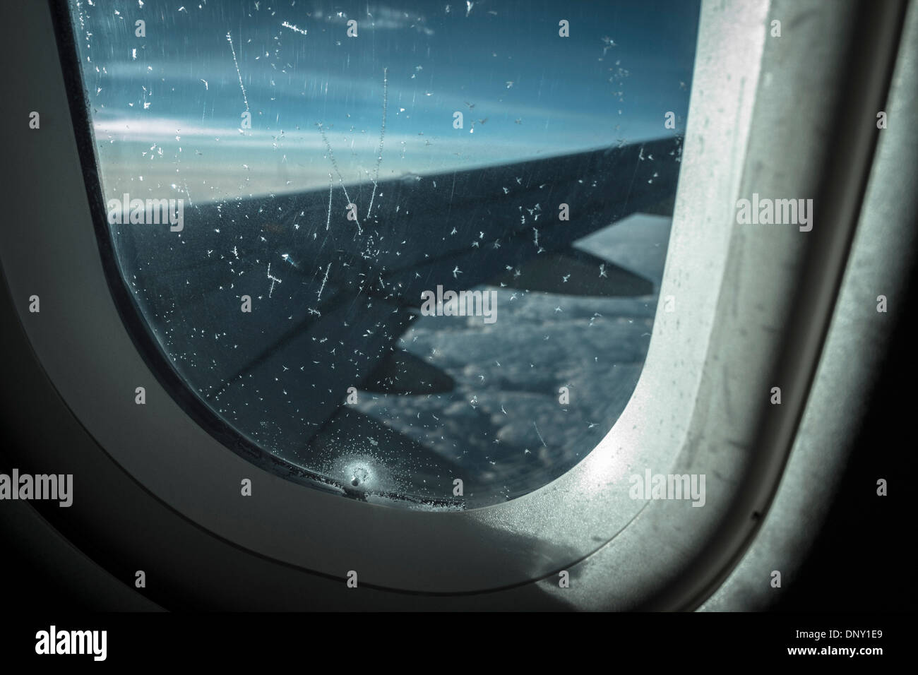 Tremendous View Over Airplane Wing From Window Seat Stock Photo Gmtry Best Dining Table And Chair Ideas Images Gmtryco