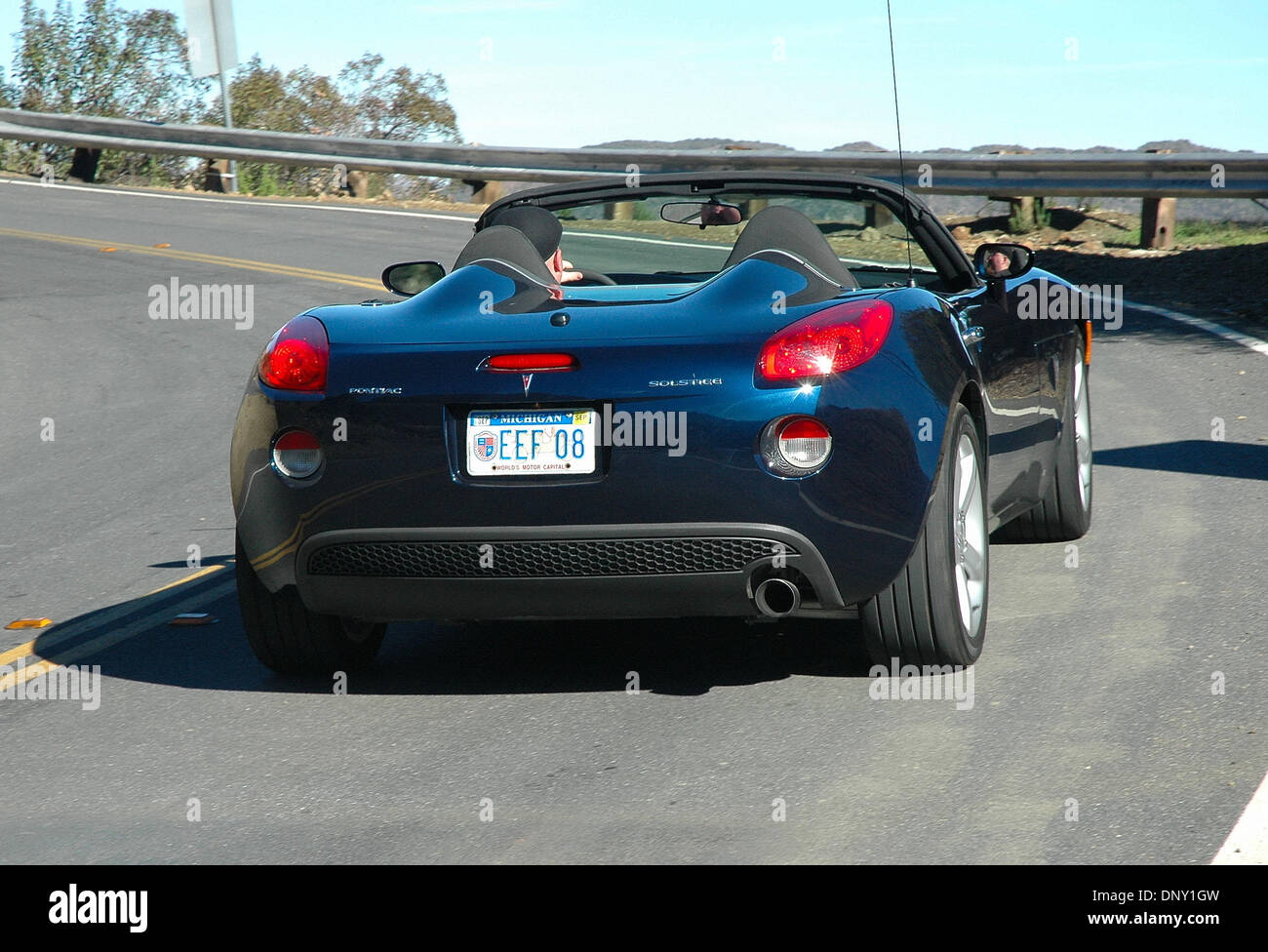 Jan 11, 2006; Los Angeles, CA, USA; The Pontiac Solstice Roadster