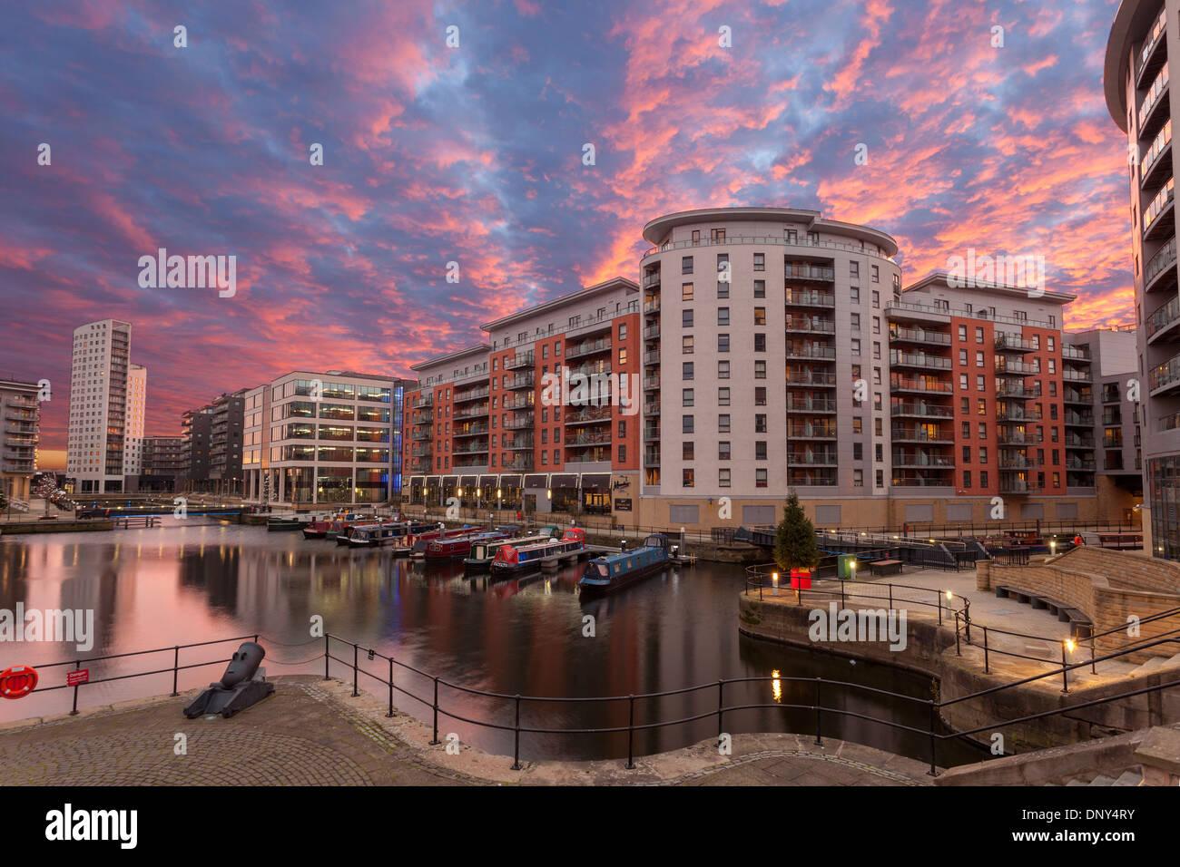 Clarence Docks, Leeds, Yorkshire - Stock Image