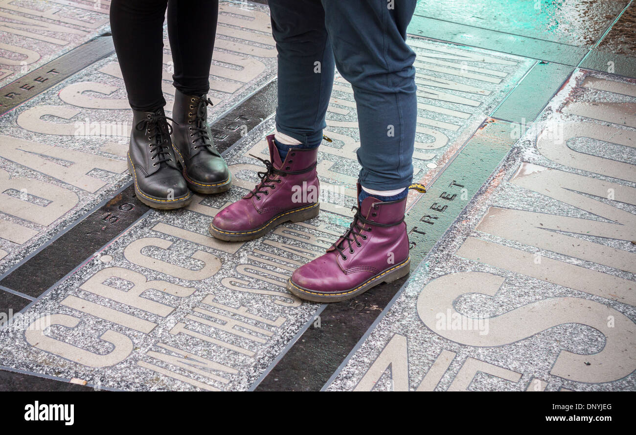 who wears dr martens boots