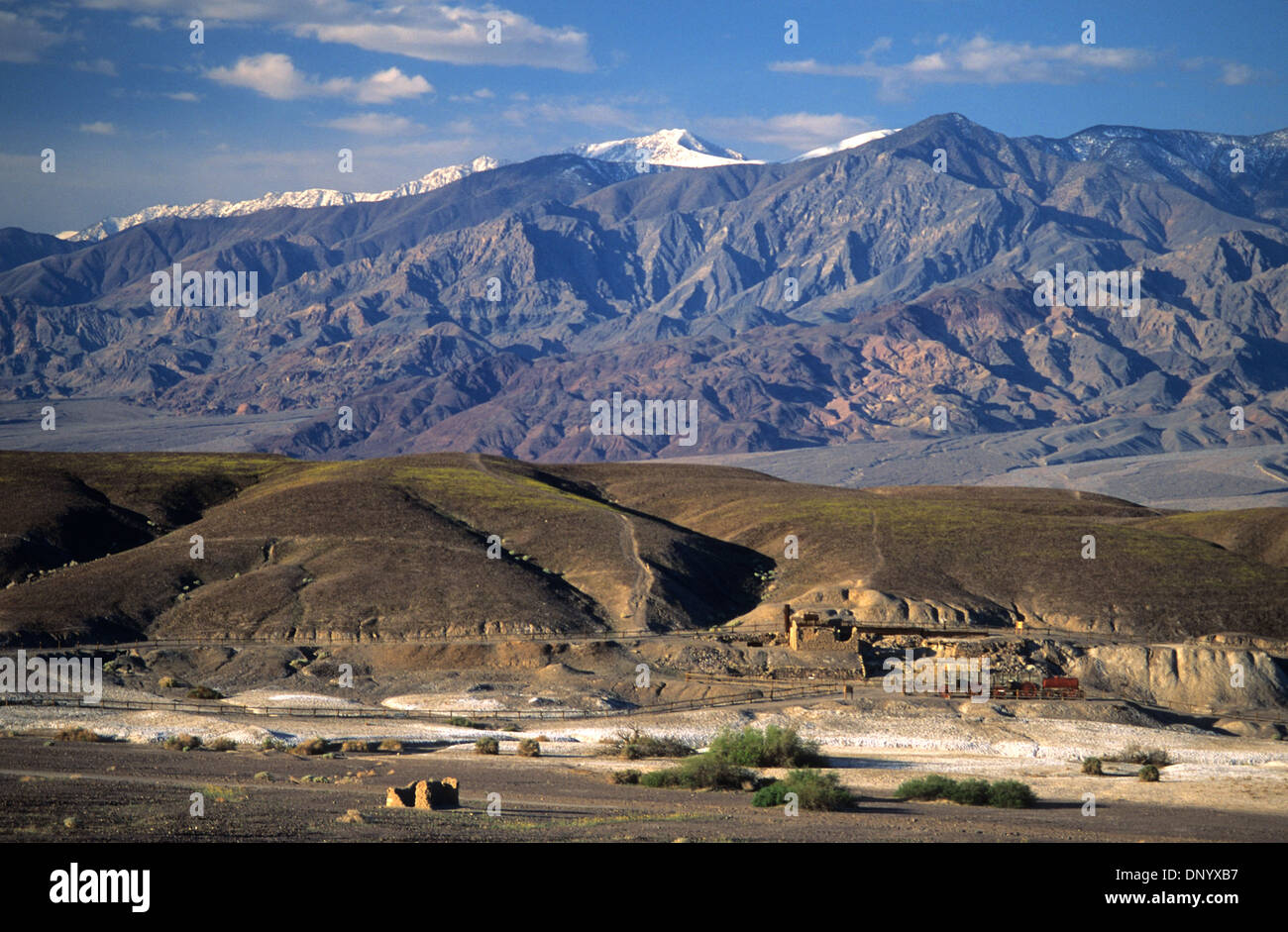Elk248-1135 California, Death Valley National Park, Harmony Borax Works - Stock Image