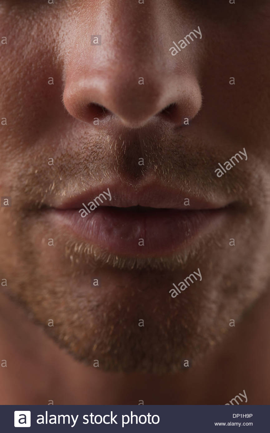 Portrait of man - Stock Image