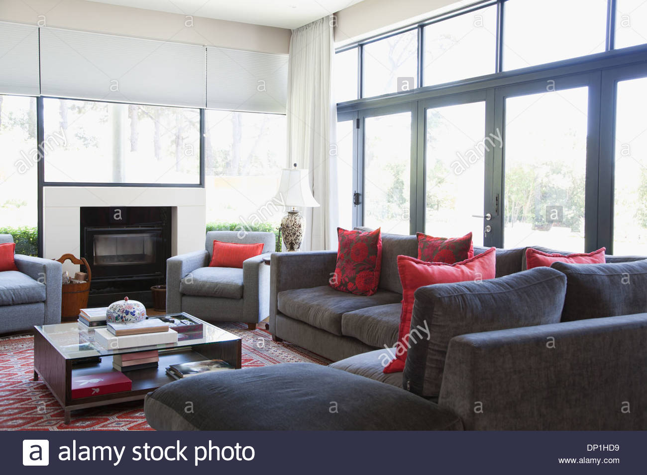 Living room - Stock Image