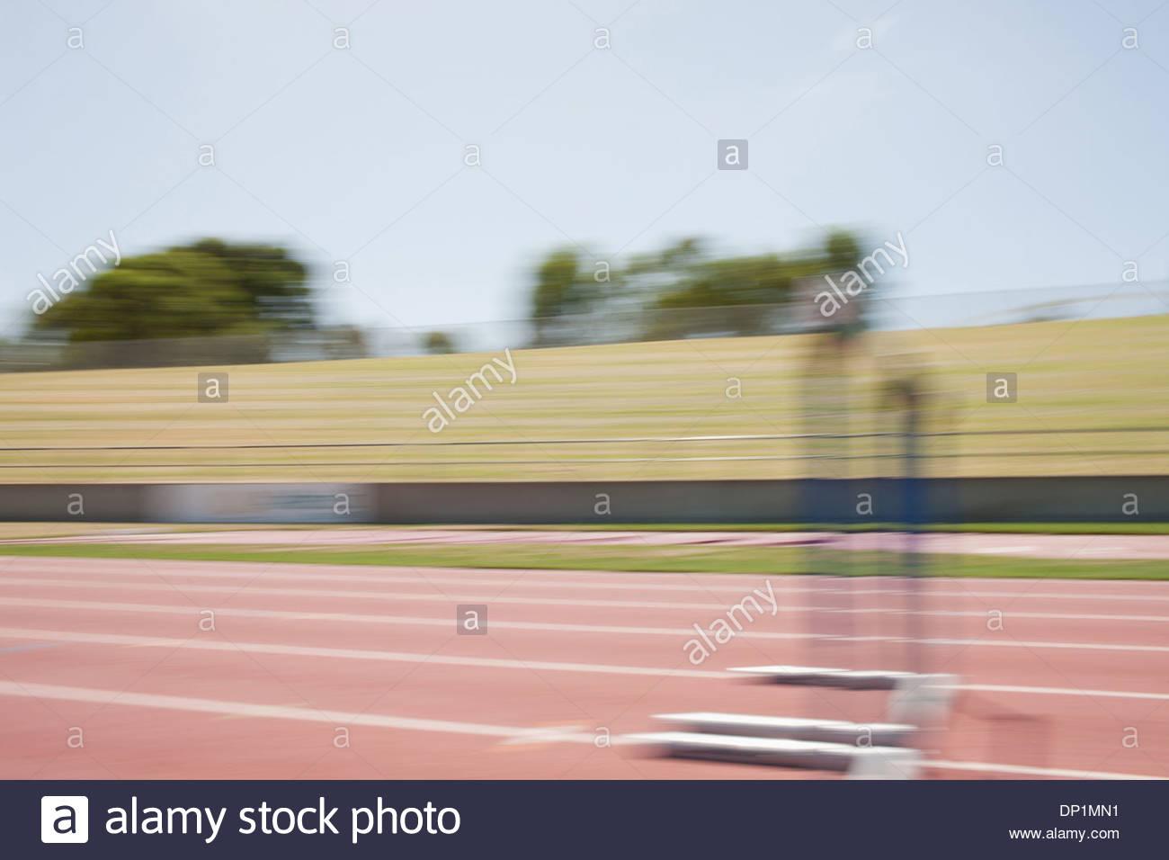 Racetrack - Stock Image