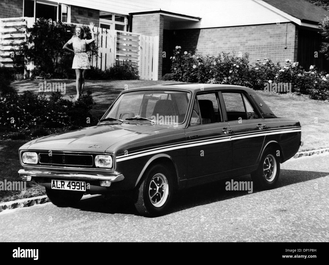 1969 Hillman Hunter GT - Stock Image