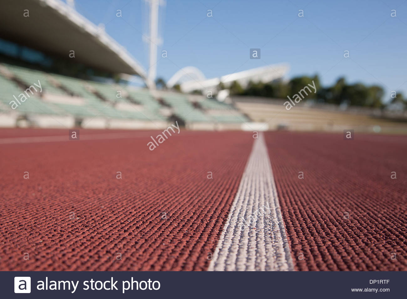 Stadium and racetrack - Stock Image