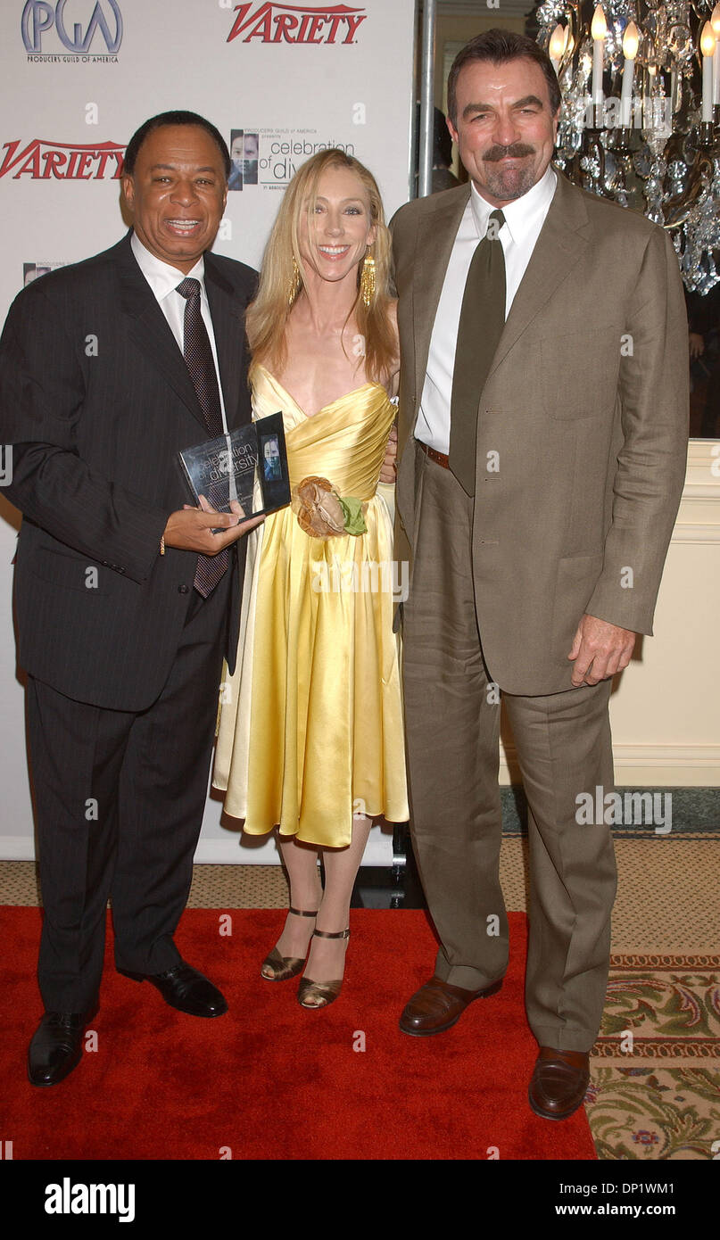 May 09, 2006; Los Angeles, CA, USA; Actor TOM SELLECK and ...