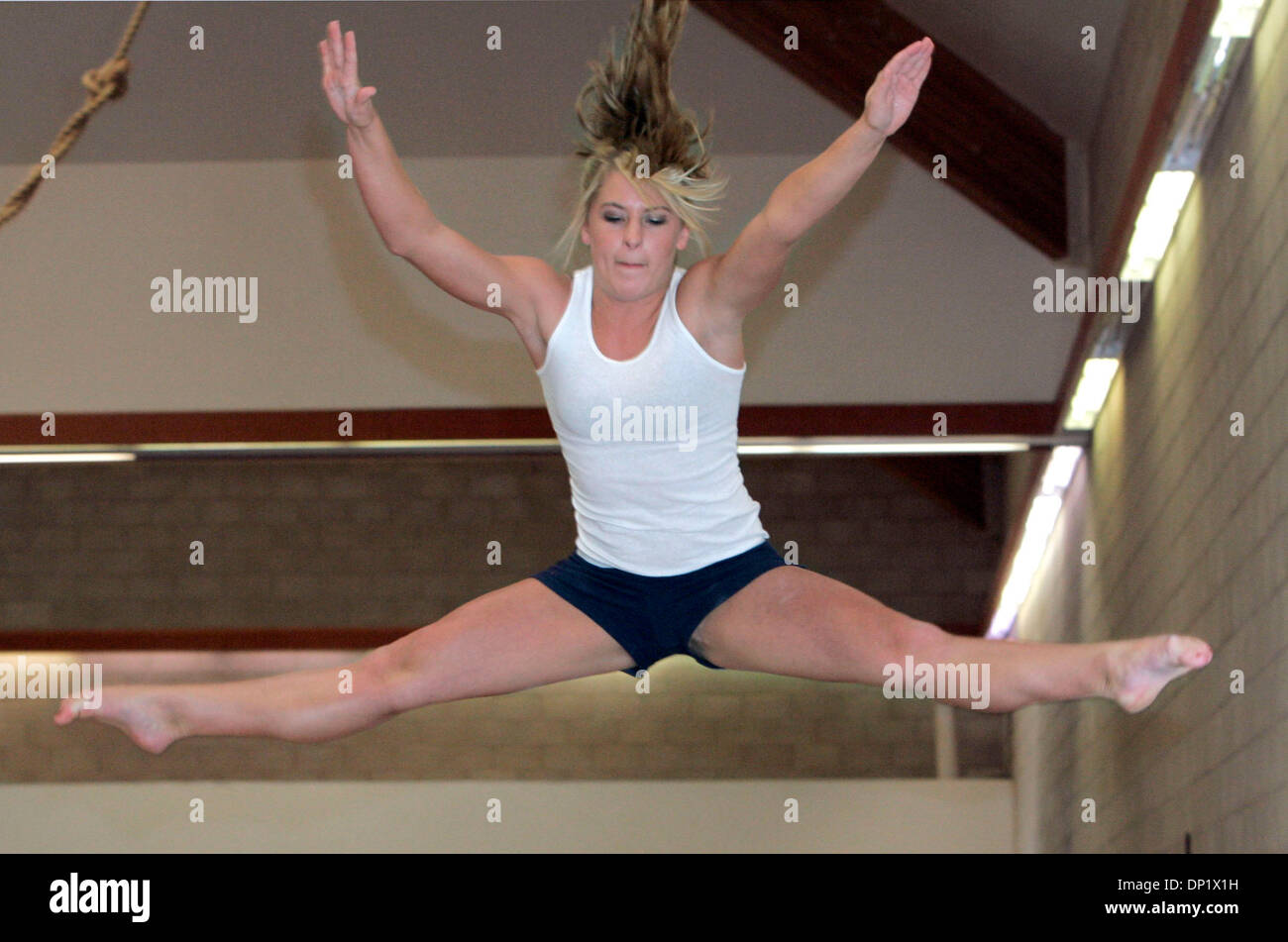 Straddle Jump Stock Photos Amp Straddle Jump Stock Images