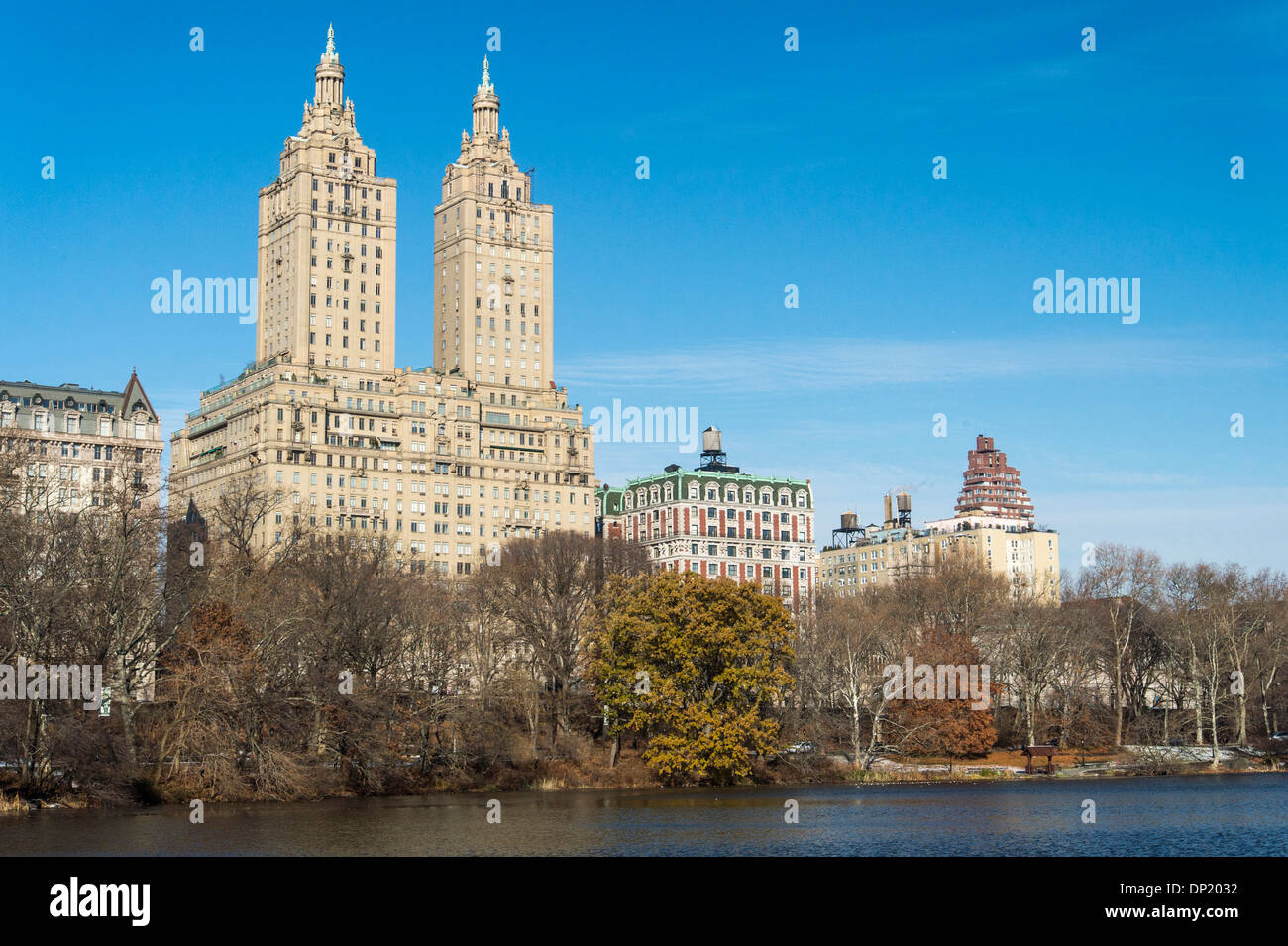 The San Remo luxury apartment building on Central Park ...