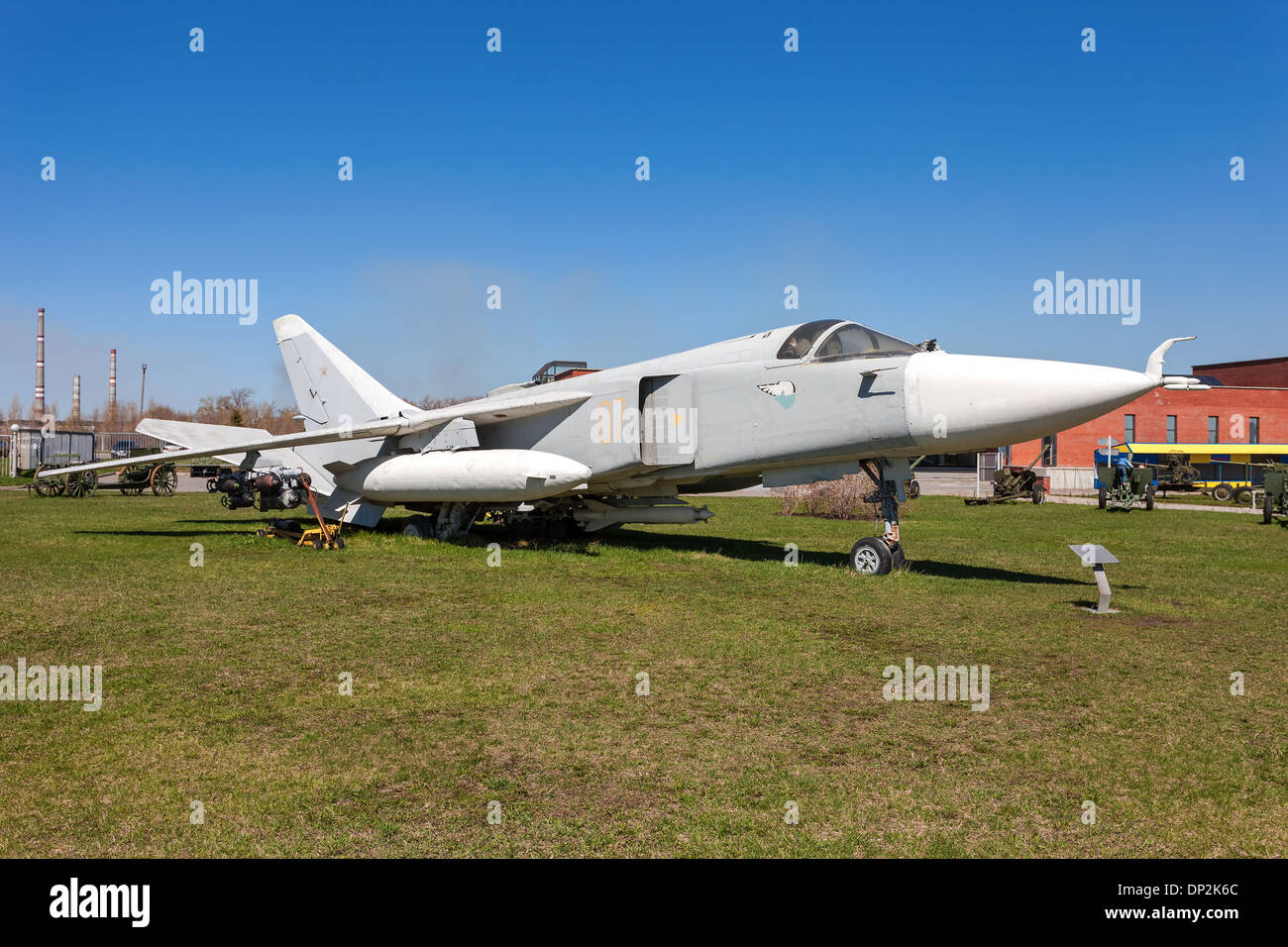 The Sukhoi Su-24 'Fencer' supersonic, all-weather attack aircraft - Stock Image