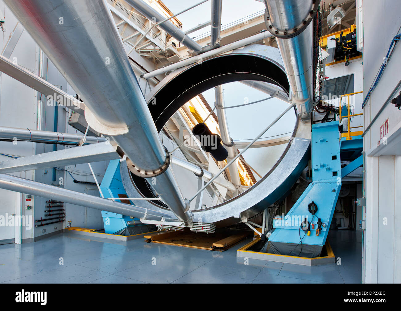 6.5m Optical mirror, MMT Observatory - Stock Image