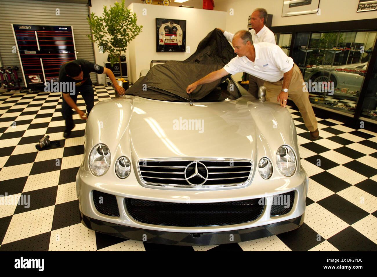 Jun 14 2006 Los Angeles Ca Usa Exotic Car Dealer Mark Johnston