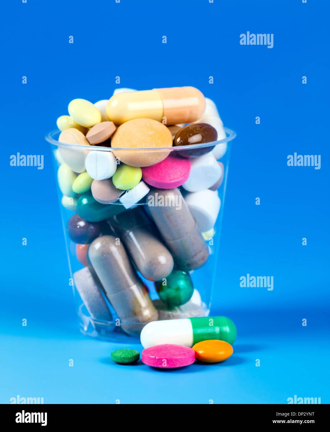 Overdose, conceptual image - Stock Image