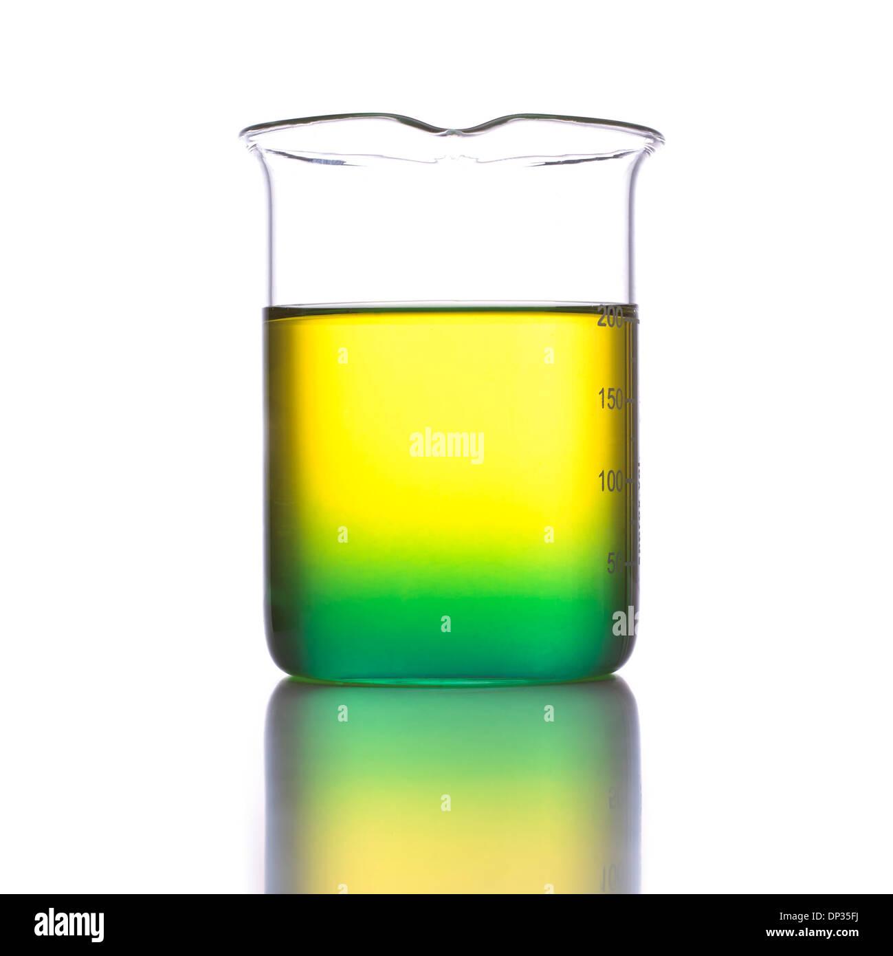 Laboratory beaker - Stock Image