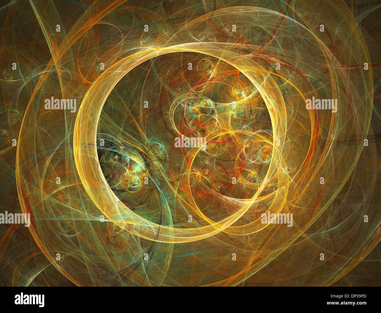 Superstrings, conceptual artwork - Stock Image