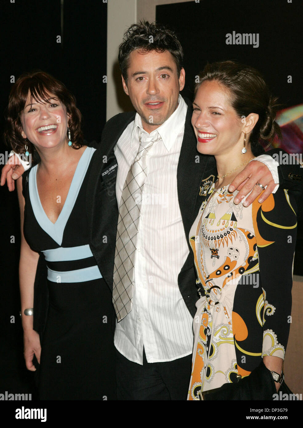 Jul 05, 2006; New York, NY, USA; Actor ROBERT DOWNEY JR ... Allyson Downey, Robert Downey