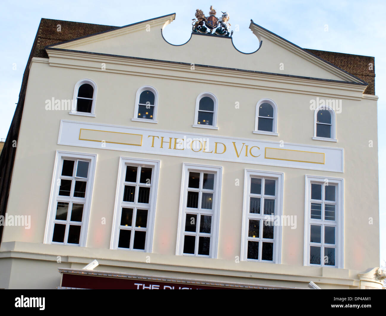 The Old Vic Theatre Waterloo Road The London Borough of Lambeth Greater London England - Stock Image