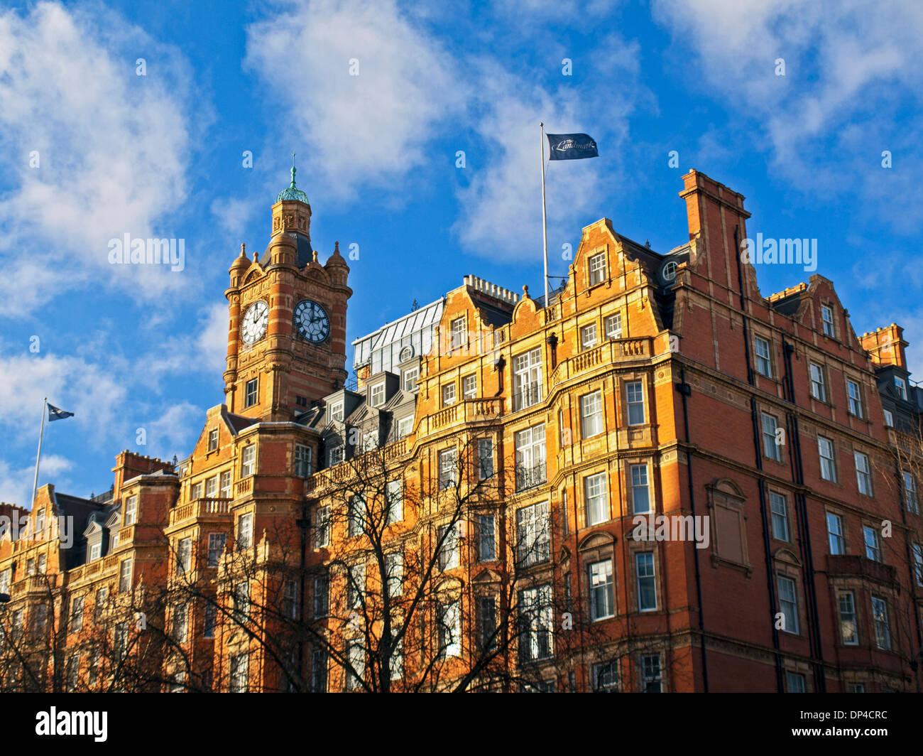 The Landmark Hotel, Marylebone, London, England, United Kingdom Stock Photo