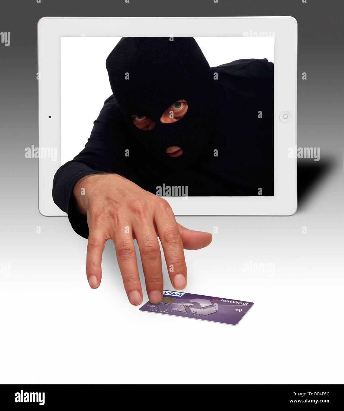 Identity theft, conceptual image - Stock Image