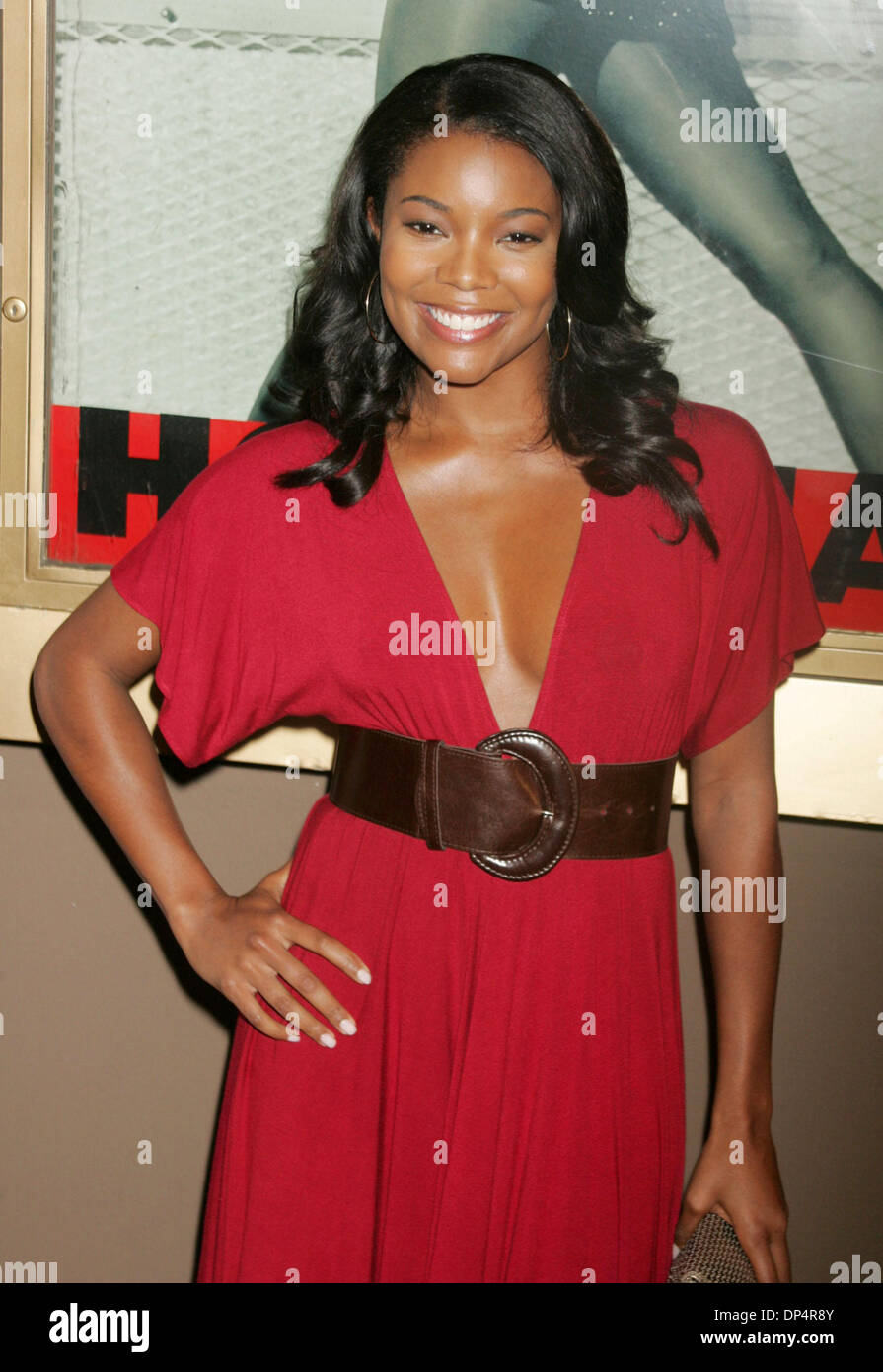 Aug 22, 2006; New York, NY, USA; Actress GABRIELLE UNION at the arrrivals for the opening night of hip hop artist Stock Photo