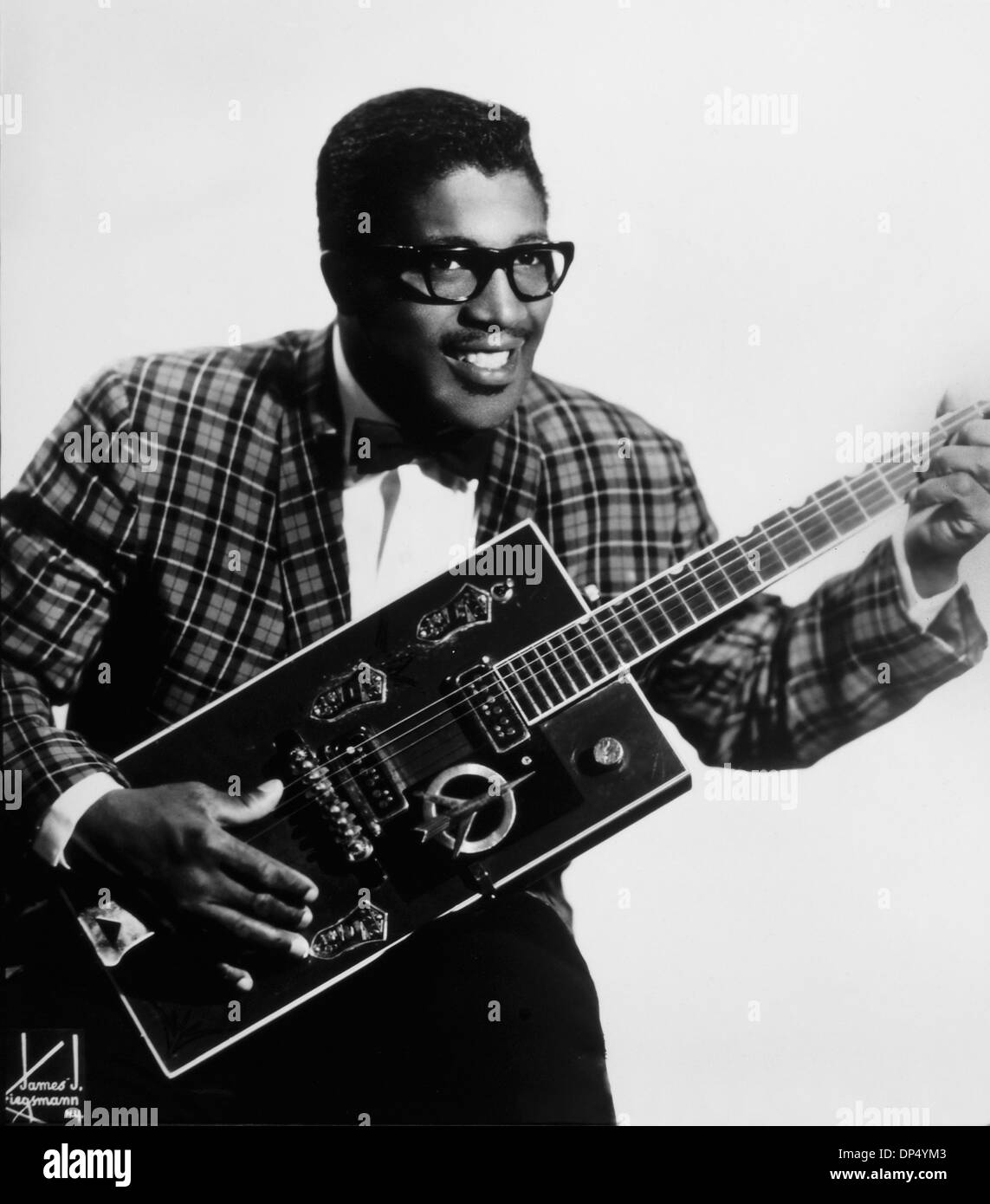 Bo Diddley (1928-2008), American Blues and R&B Musician, Portrait, 1959 - Stock Image
