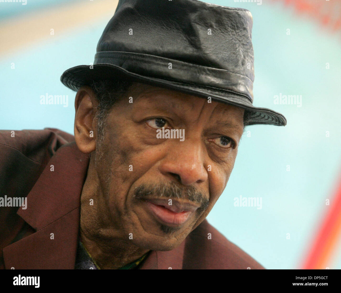 Sep 15, 2006; New York, NY, USA; Free jazz innovator saxophonist ORNETTE COLEMAN promotes his new CD 'Sound Grammar'  his first CD release in ten years at J&R Music and Computer World. Mandatory Credit: Photo by Nancy Kaszerman/ZUMA Press. (©) Copyright 2006 by Nancy Kaszerman - Stock Image
