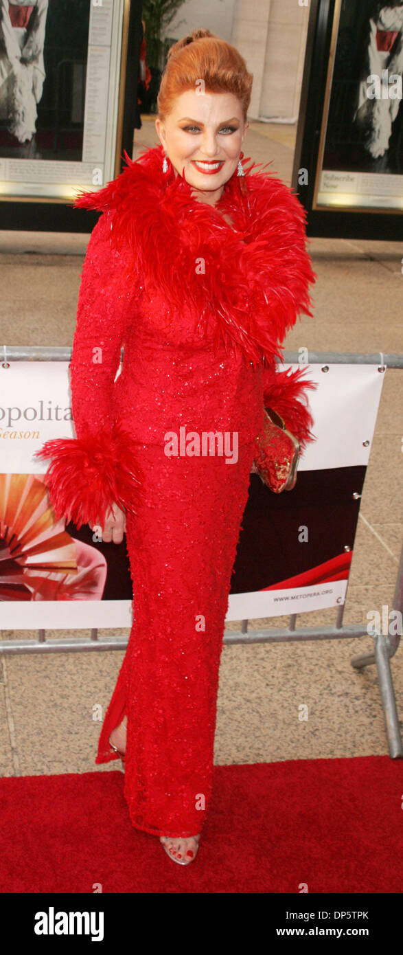Sep 25, 2006; New York, NY, USA; Socialite GEORGETTE MOSBACHER at the arrivals for the Metropolitan Opera 2006-2007 Stock Photo
