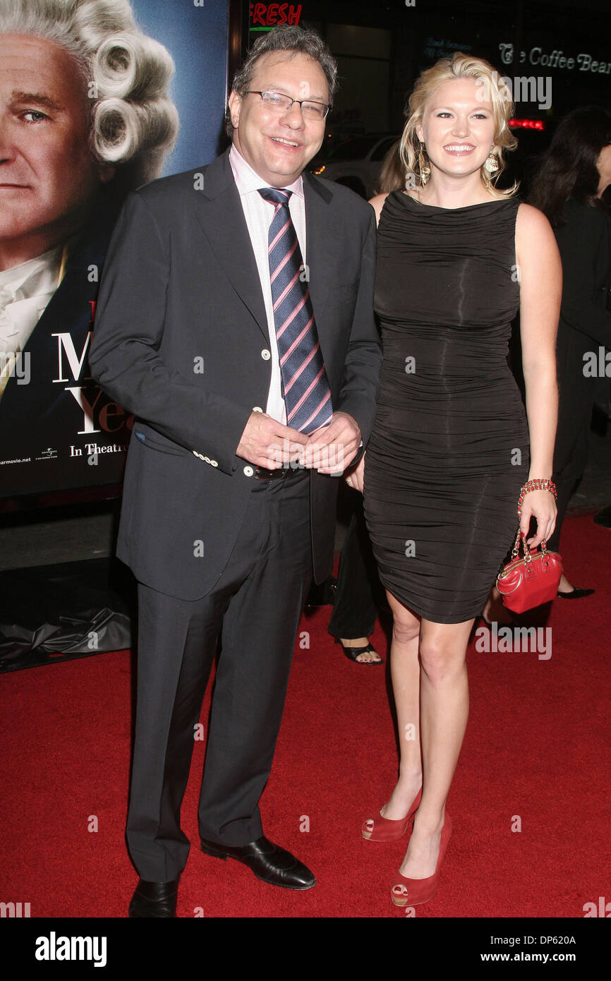 Oct 04, 2006; Los Angeles, CA, USA; Actor/Comedian LEWIS BLACK and wife at  the 'Man Of The Year' World Premiere held at Grauman's Chinese Theater, ...