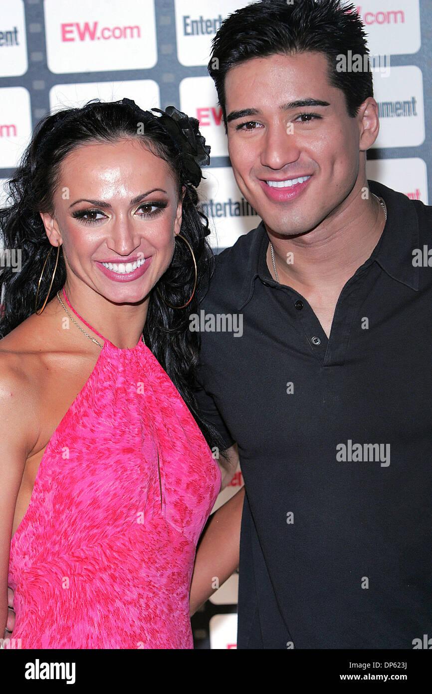 Karina smirnoff and mario lopez dating