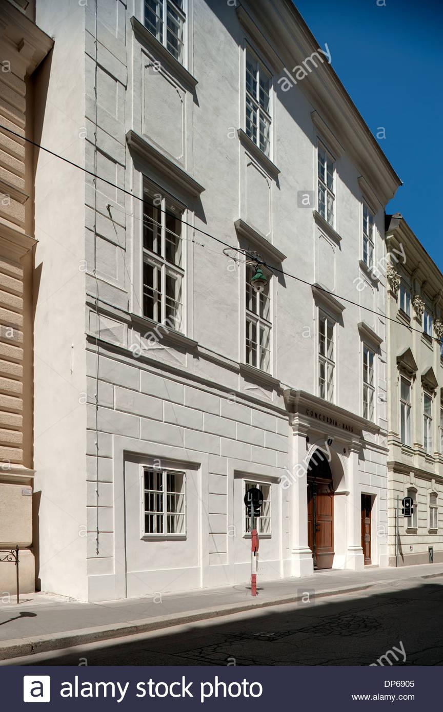 Genial Fassade Haus Sammlung Von Wien, Bankgasse, Concordia-,