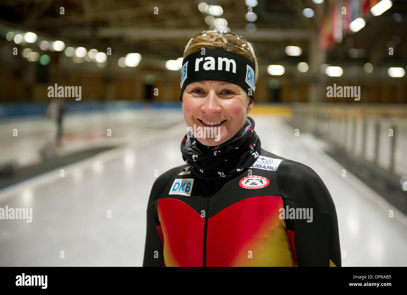 Claudia Pechstein Stock Photos & Claudia Pechstein Stock ...