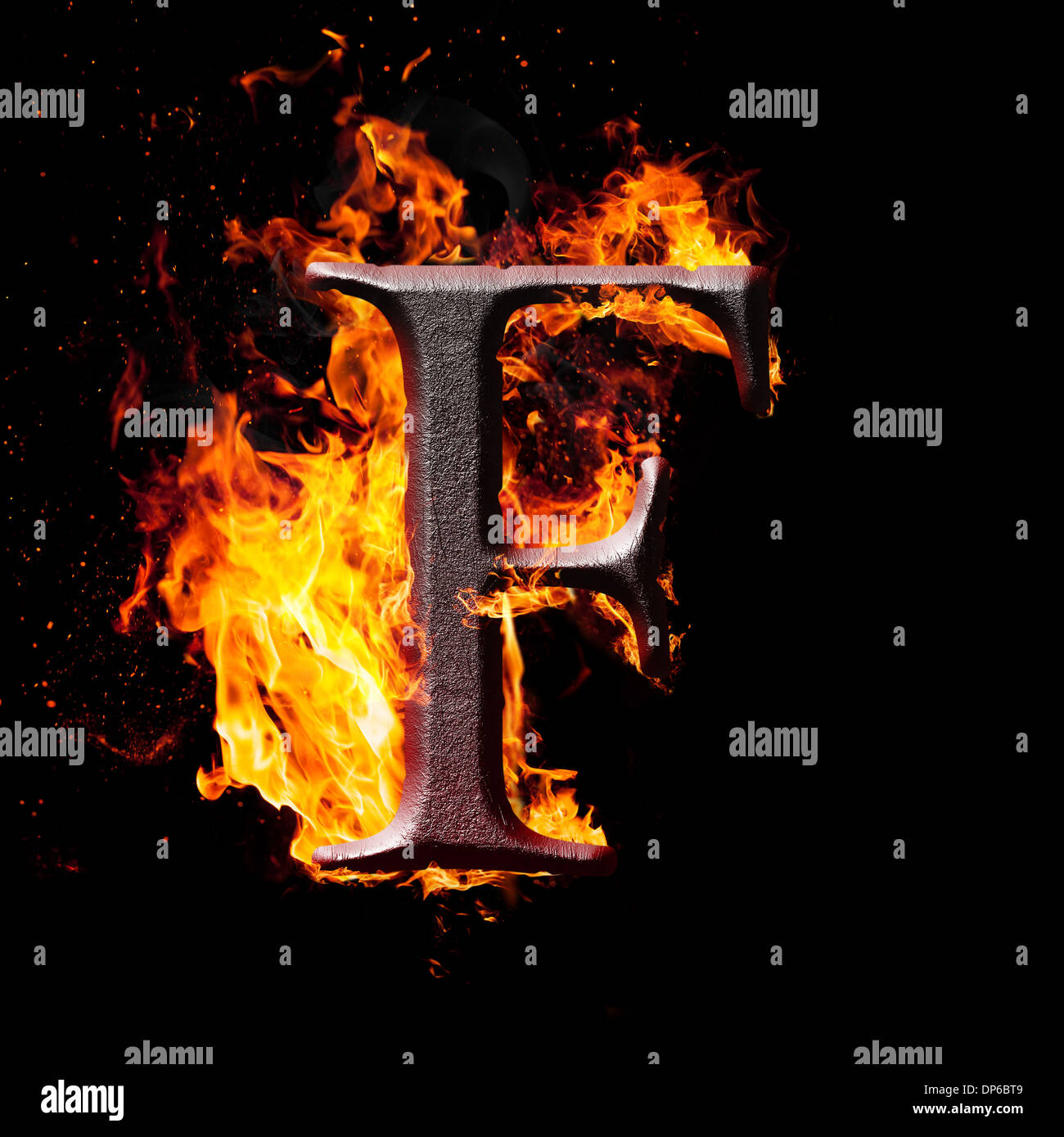 Letters and symbols in fire f stock photo 65294553 alamy letters and symbols in fire f altavistaventures Images