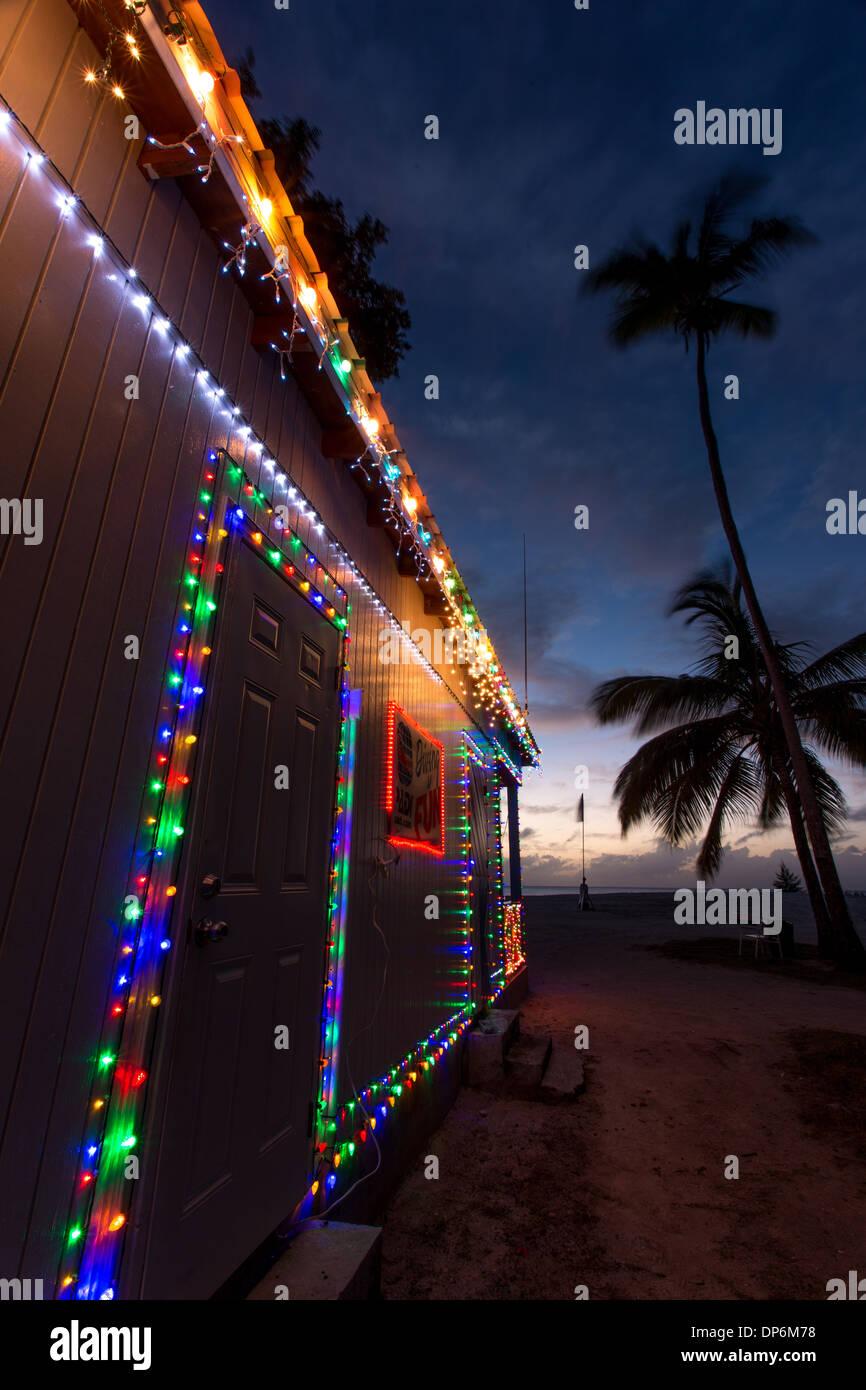 Jolly Beach Dive centre, Jolly Beach resort and spa, Bolans Village, Antigua, Leeward Islands, West Indies - Stock Image