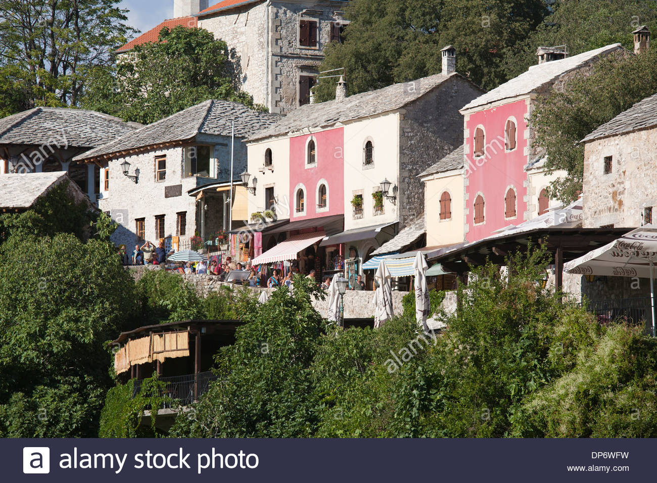 old town,east side of mostar,bosnia and herzegovina,europe Stock Photo