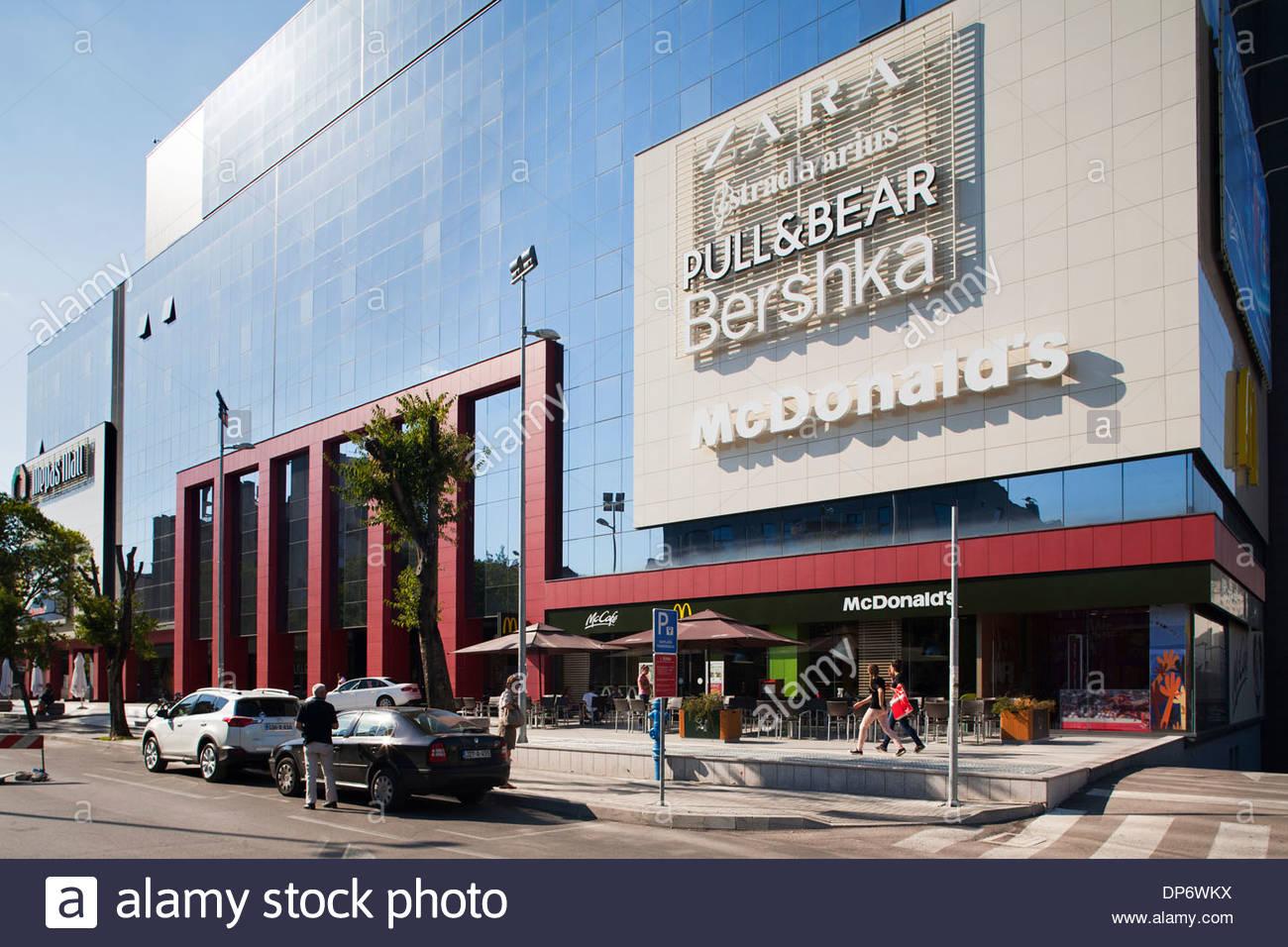 shopping center,west side,mostar,bosnia and herzegovina,europe - Stock Image