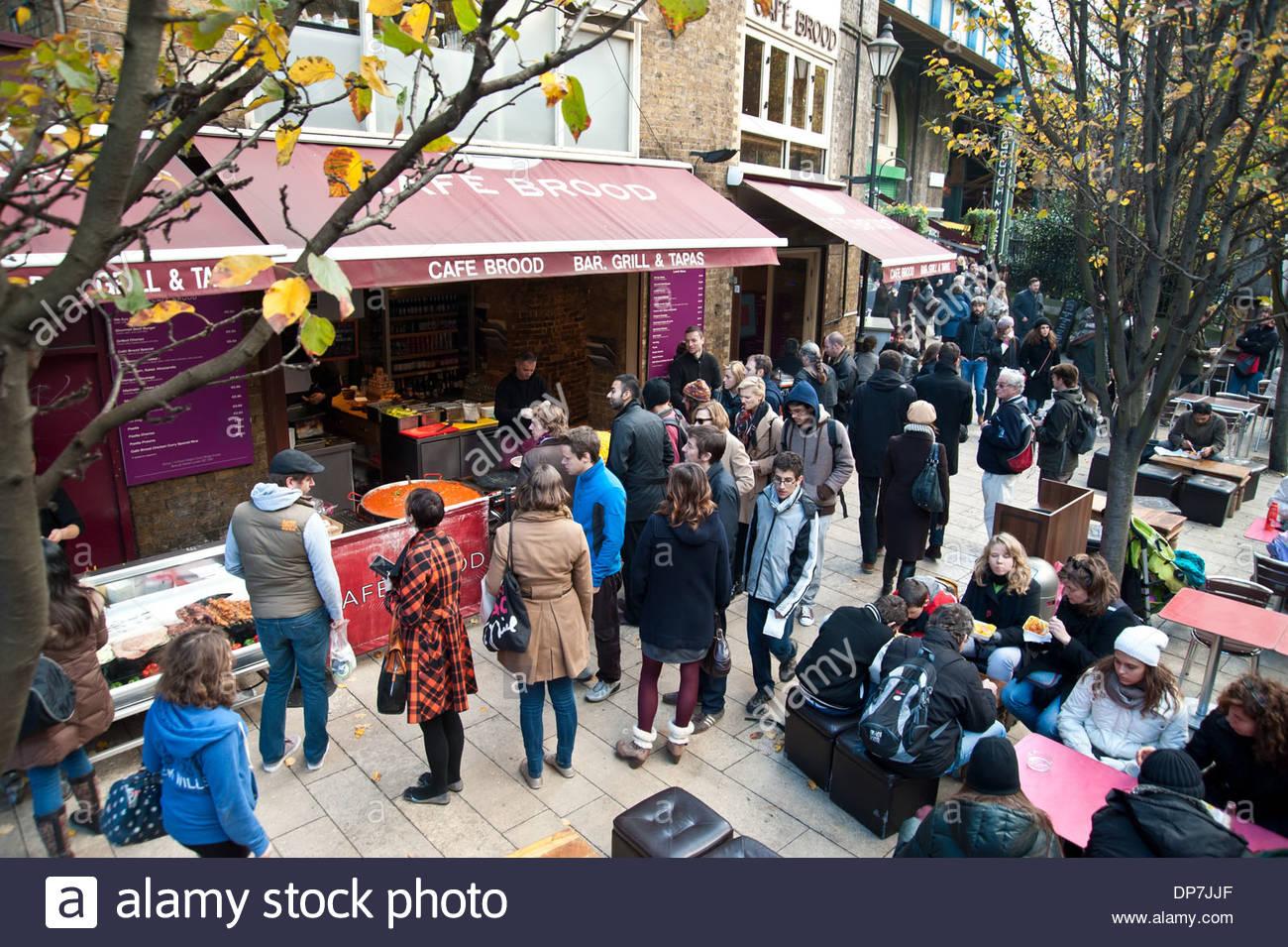 London, Borough Market - Stock Image