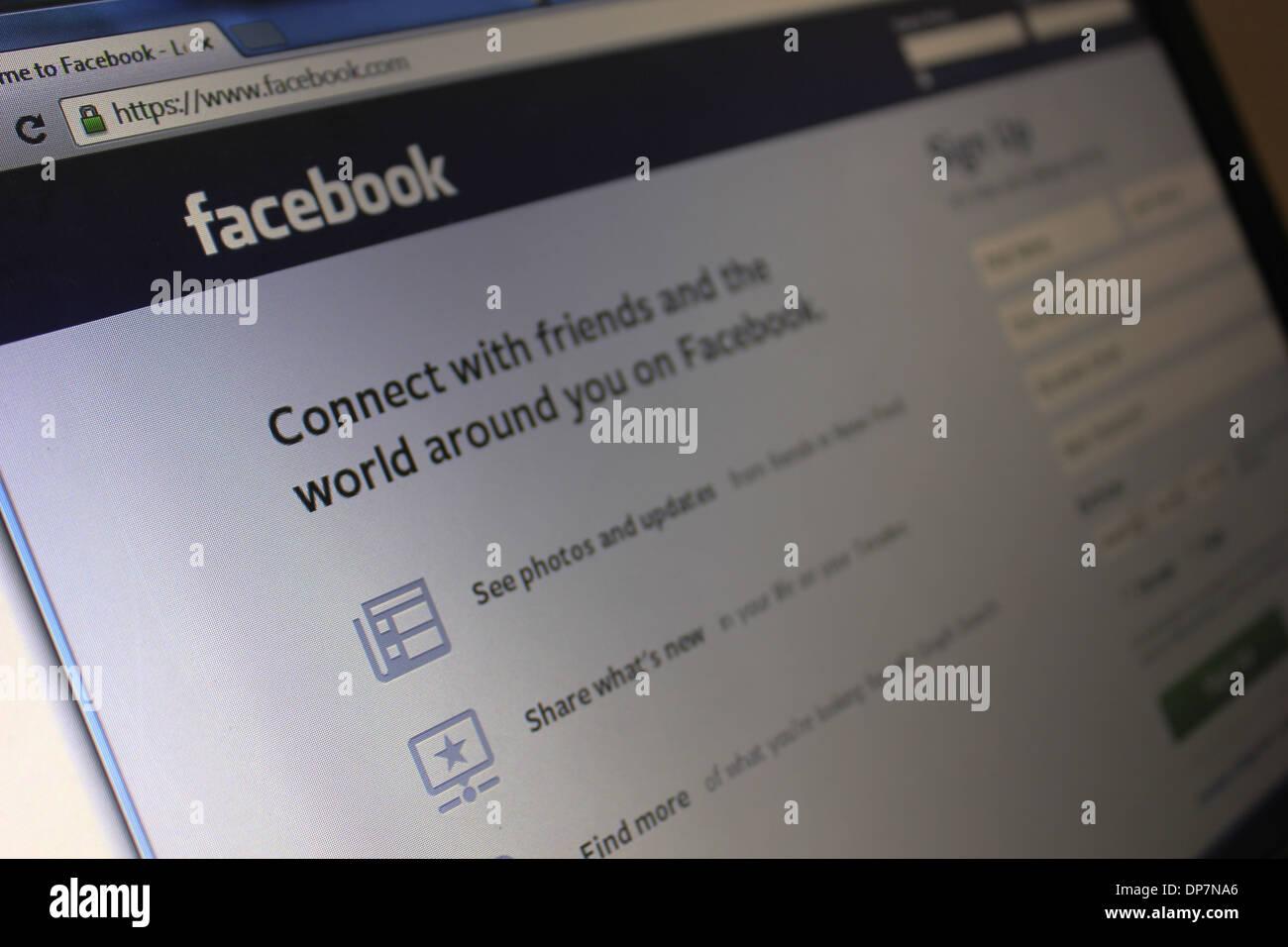 Facebook login www c How to