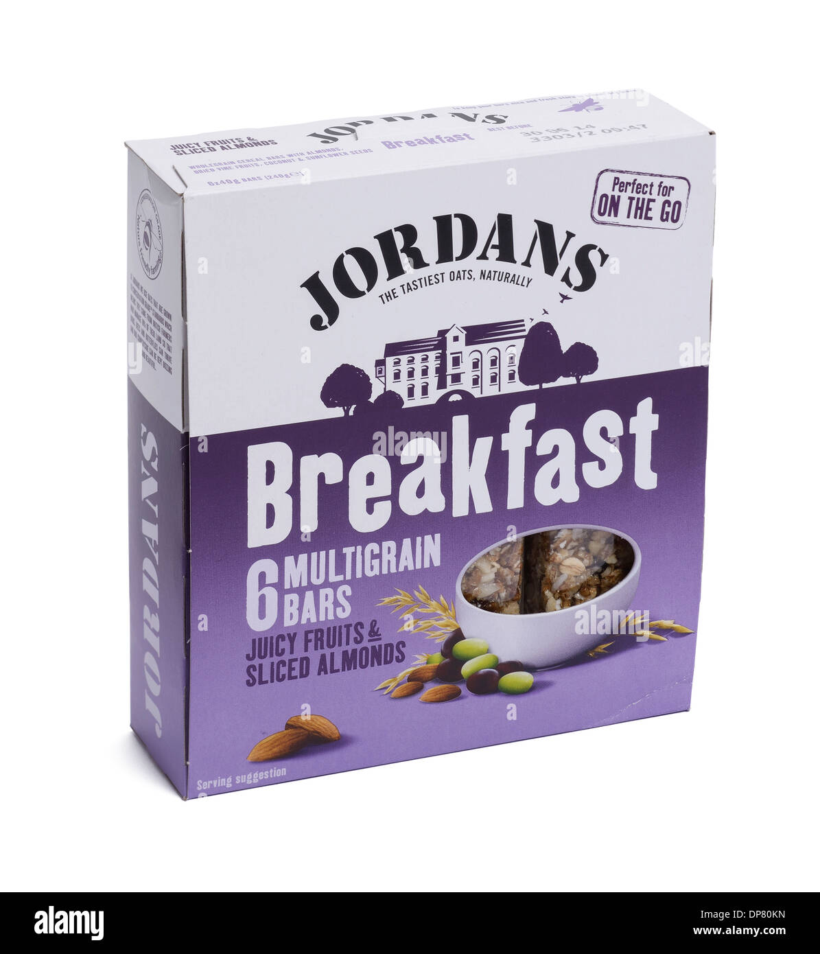 Box of Jordans breakfast cereal bars - Stock Image