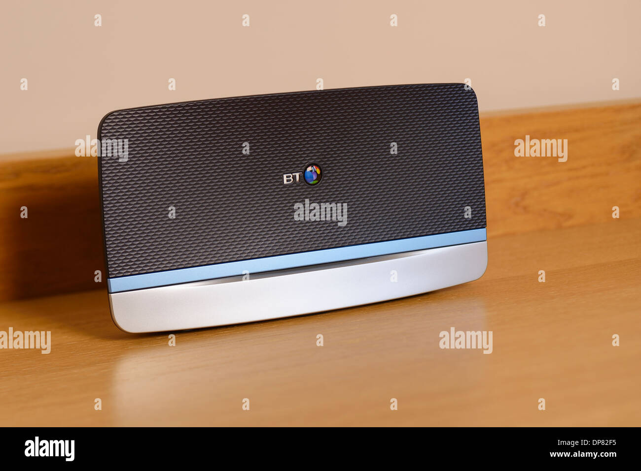 BT Home Hub 5 wireless router internet modem - Stock Image