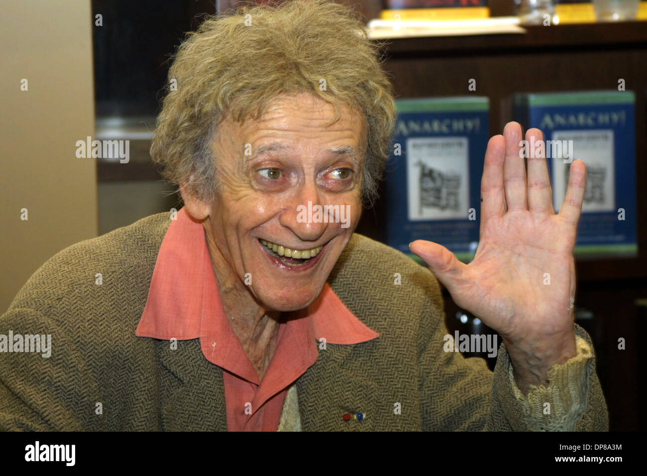 Sep 22, 2007 - Paris, France - Marcel Mangel (March 22, 1923 - September 22, 2007), better known by his stage name MARCEL MARCEAU, was a well-known mime artist, among the most popular representatives of this art form world-wide. For 60 years transfixed international audiences with his stage persona Bip the Clown, inspired by Chaplin's Tramp, has died at the age of 84 in France.   P - Stock Image