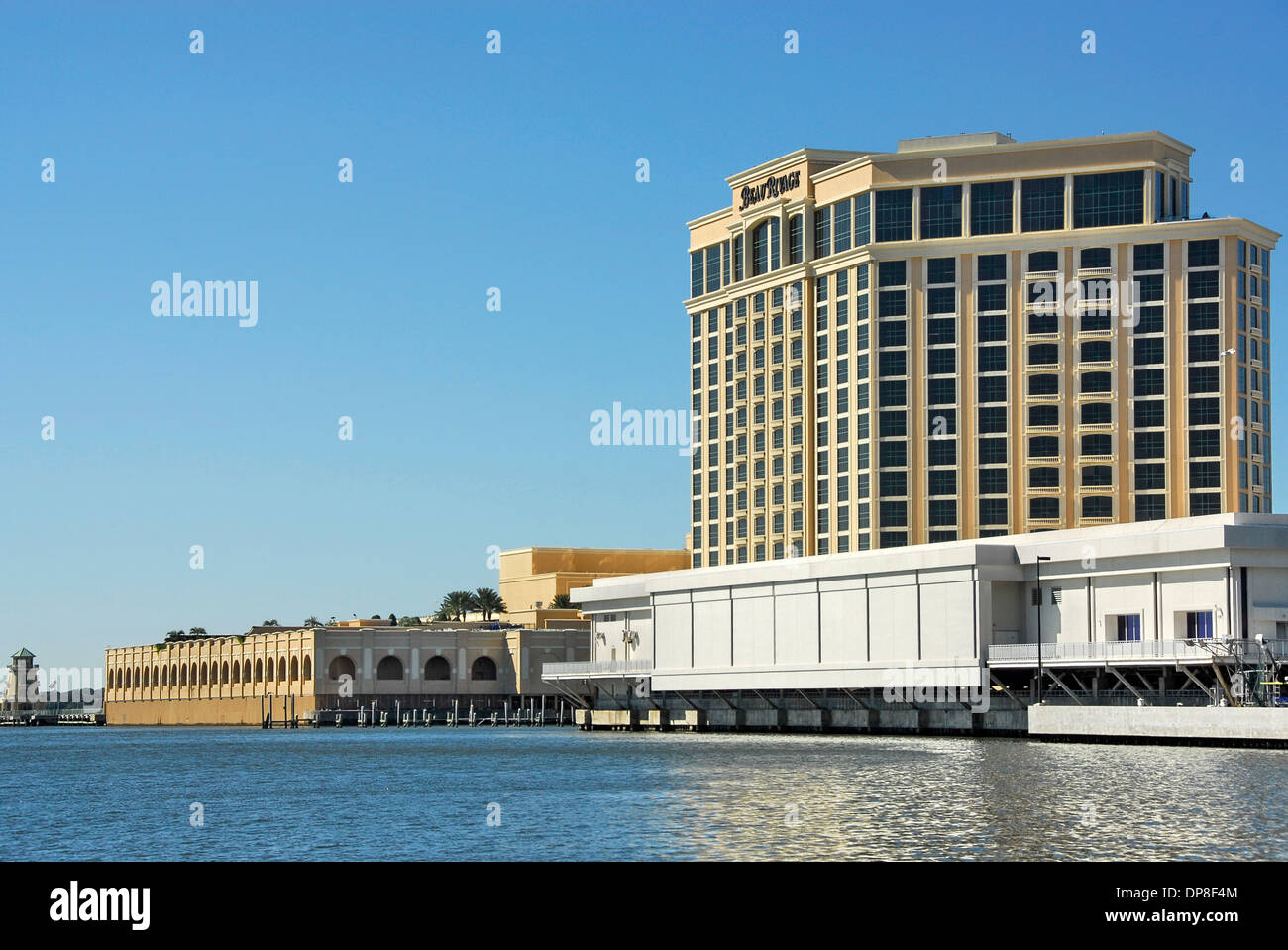 Beau Rivage Hotel And Casino Resort In Biloxi Mississippi Stock